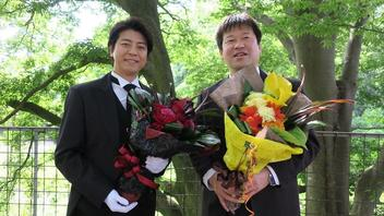 上川隆也&佐藤二朗は同じ誕生日『執事 西園寺の名推理』でお祝い