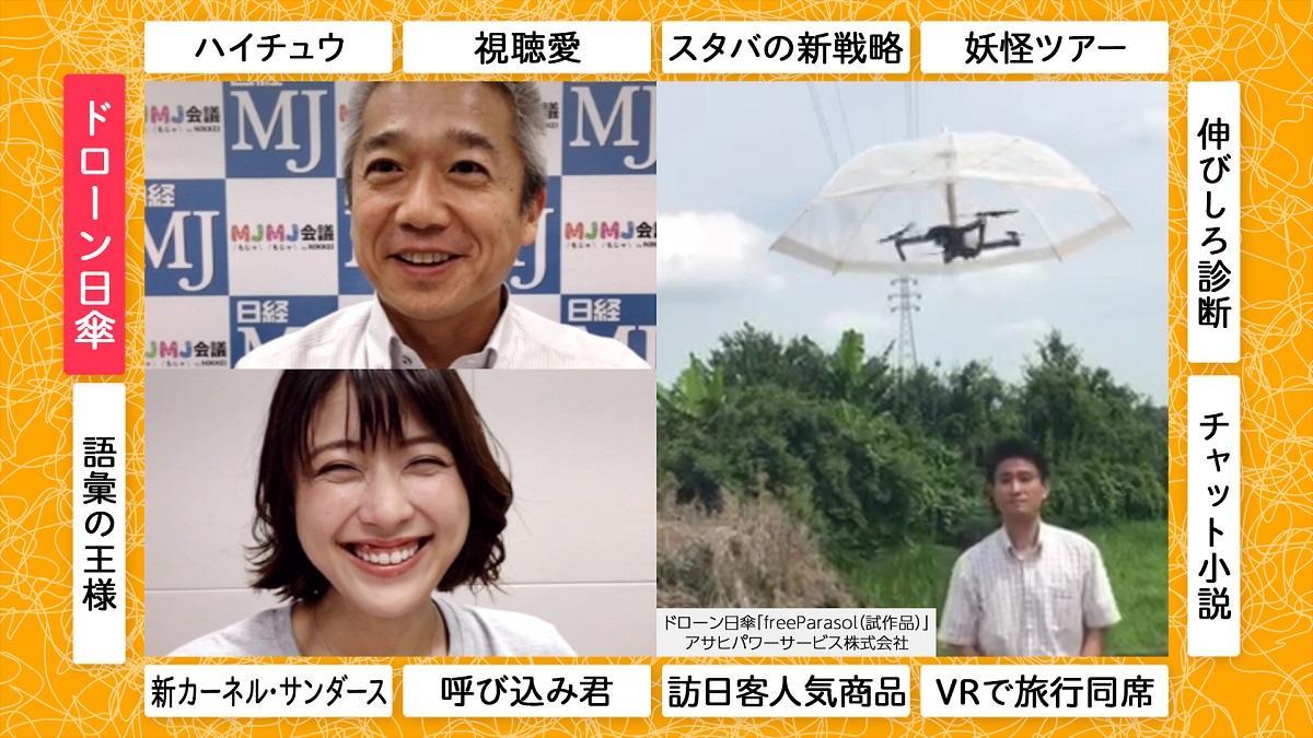 池澤あやかのMJMJ格付研究所#2「ツッコミのち感動生むドローン日傘」