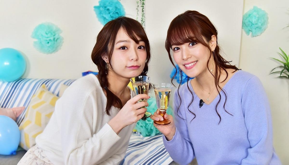 宇垣美里アナ&鷲見玲奈アナ「女子会」で本音がこぼれまくり?!