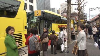 「はとバス」70周年 バブル期以来の人気