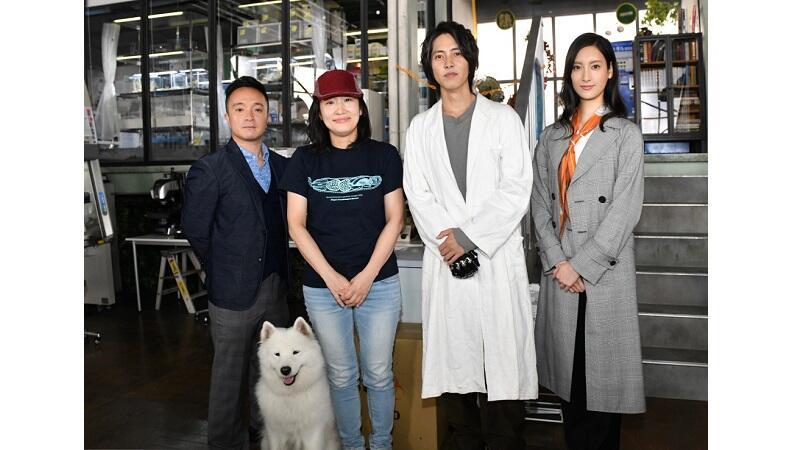 『インハンド』原作者・朱戸アオが主演・山下智久らを激励!