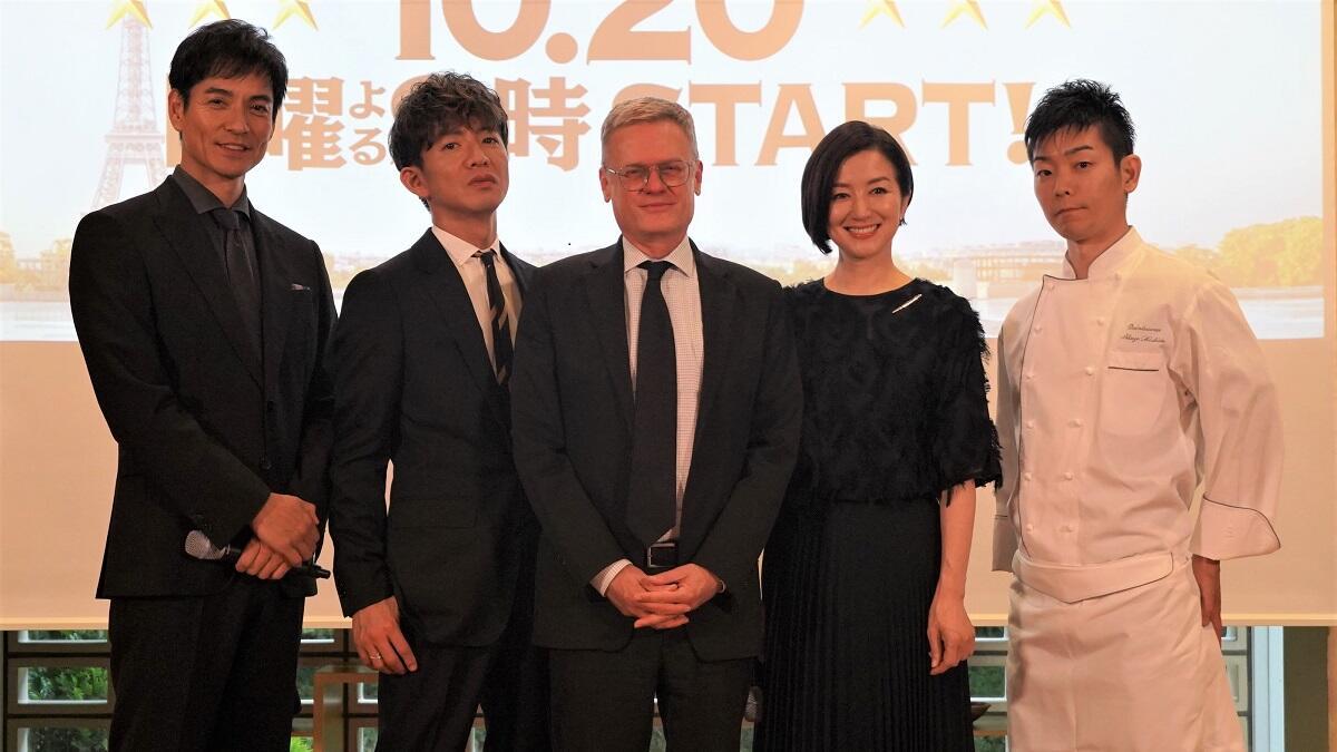 『グランメゾン東京』木村拓哉が料理人を目指す若者にエール!