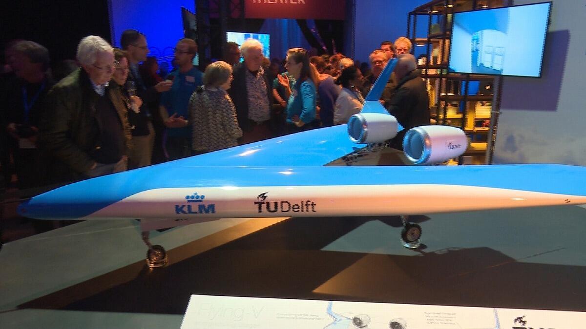 未来の飛行機はV字型!?
