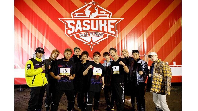 『SASUKE』THE RAMPAGE・陣、浦川翔平、武知海青が参戦!