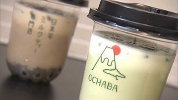 若者に人気!「日本茶」ミルクティー