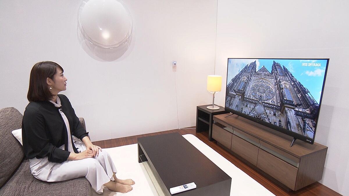 「アイリスオーヤマ」がテレビ市場参入