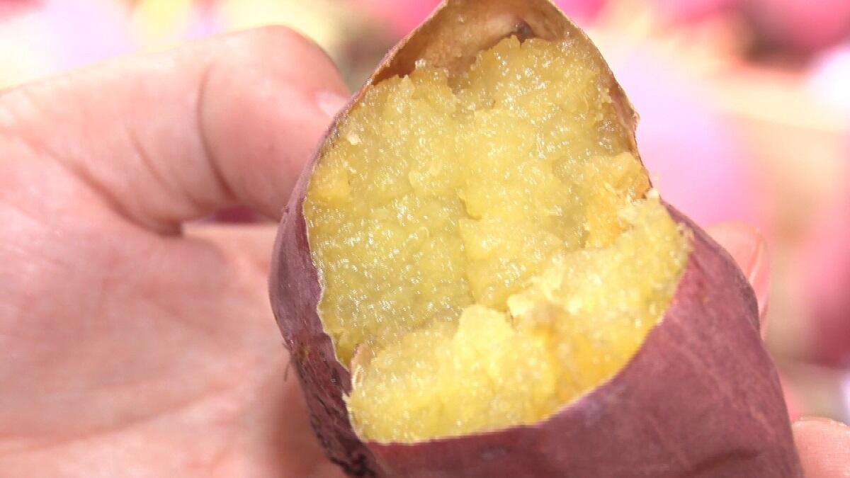 海外でも焼き芋が大人気!