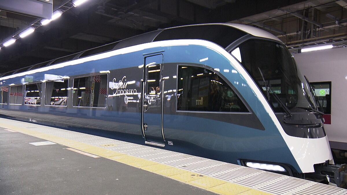 全席グリーン車の観光特急列車