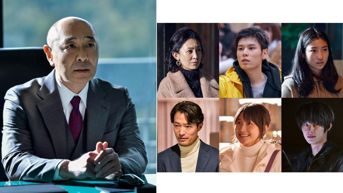 香取慎吾主演『アノニマス』刑事部長役で高橋克実が出演